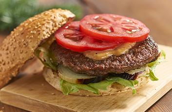 Heerlijke hamburger die lekker snel klaar is